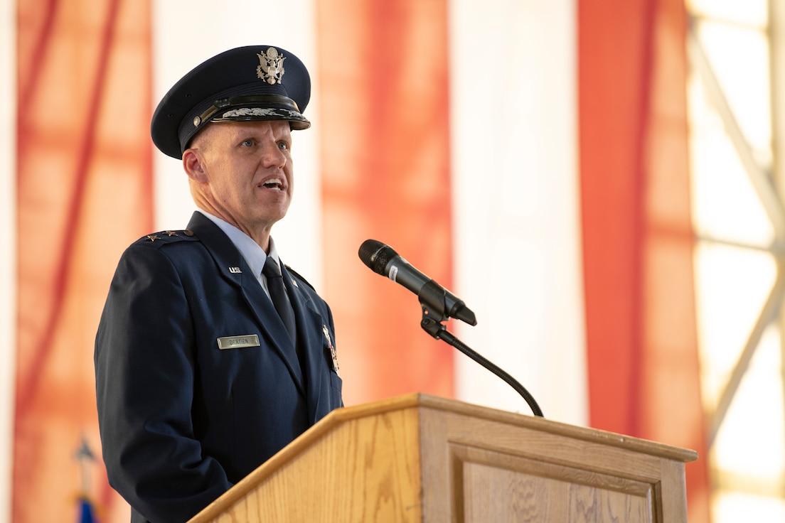 Maj. Gen. Evan C. Dertien Change of Command Ceremony