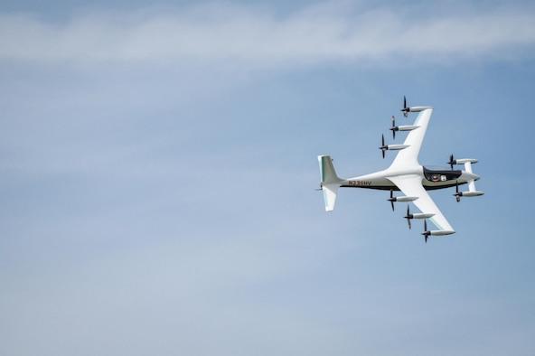 Kitty Hawk demonstrates the eVTOL aircraft Heaviside's automated and remote flight capabilities. (Courtesy photo/Kitty Hawk)