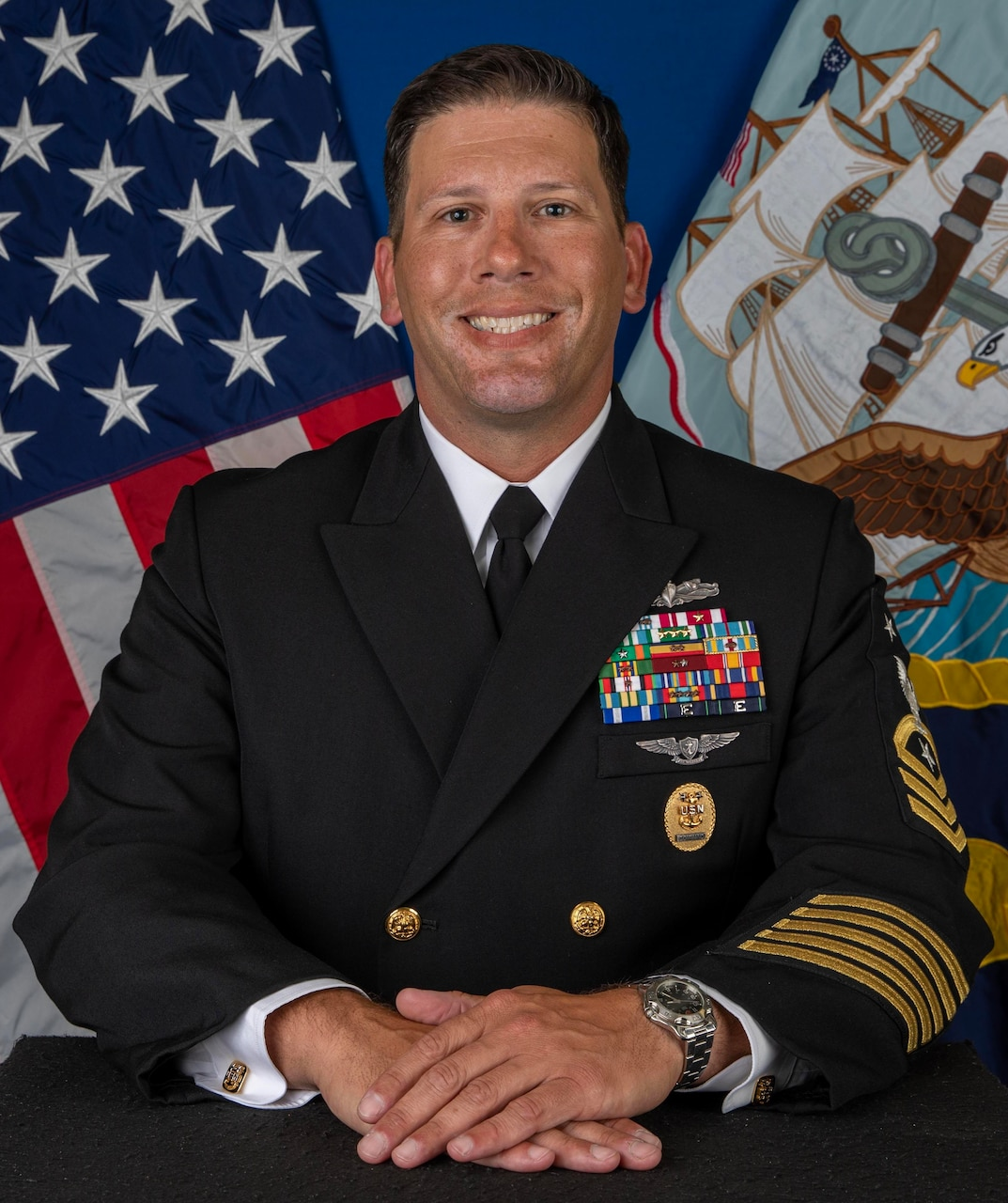 Command Master Chief Lucas W. Jenkins