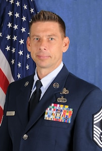 113th Wing Command Chief Master Sgt. Sterlin G. Wilson