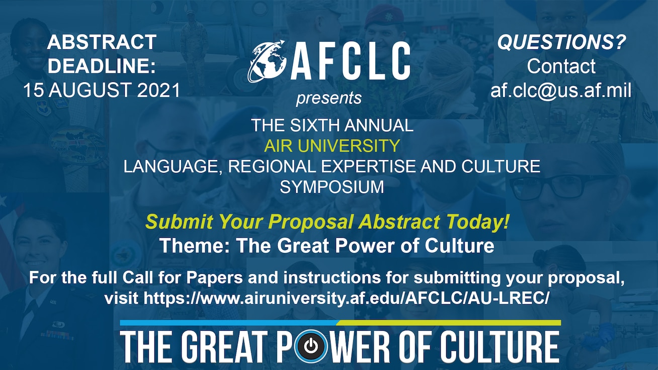 2021 AU LREC Call for Papers
