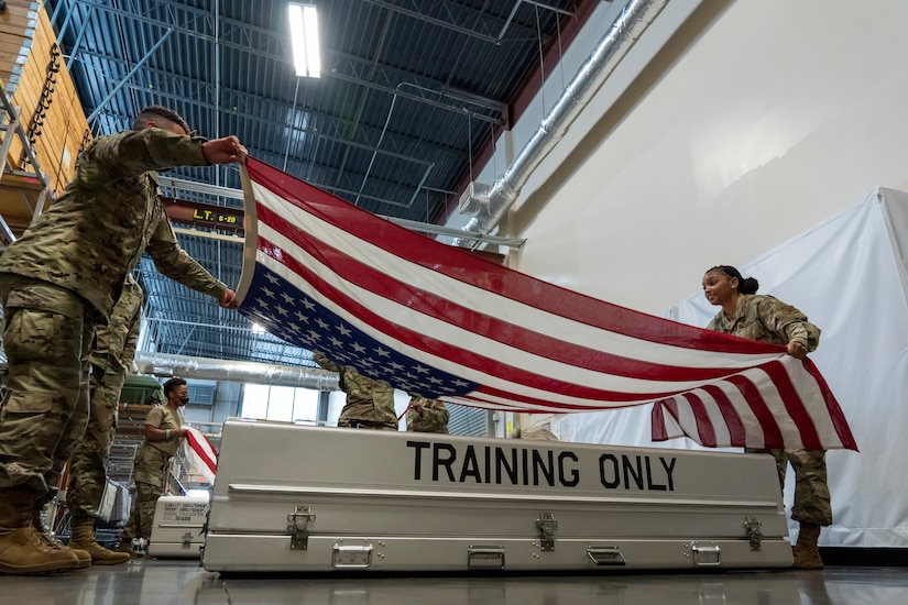 New AFMAO support team trains for DT mission