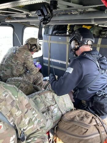 Alaska Air National Guard medevacs injured U.S. Army Alaska paratrooper