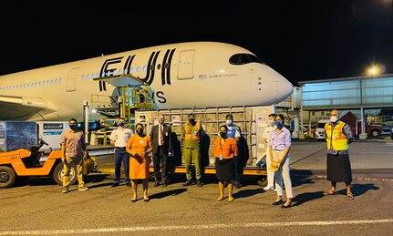 The U.S. Donates 150,080 Moderna Vaccine Doses to Fiji