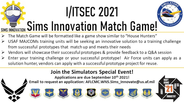 Sims Innovation Match Game