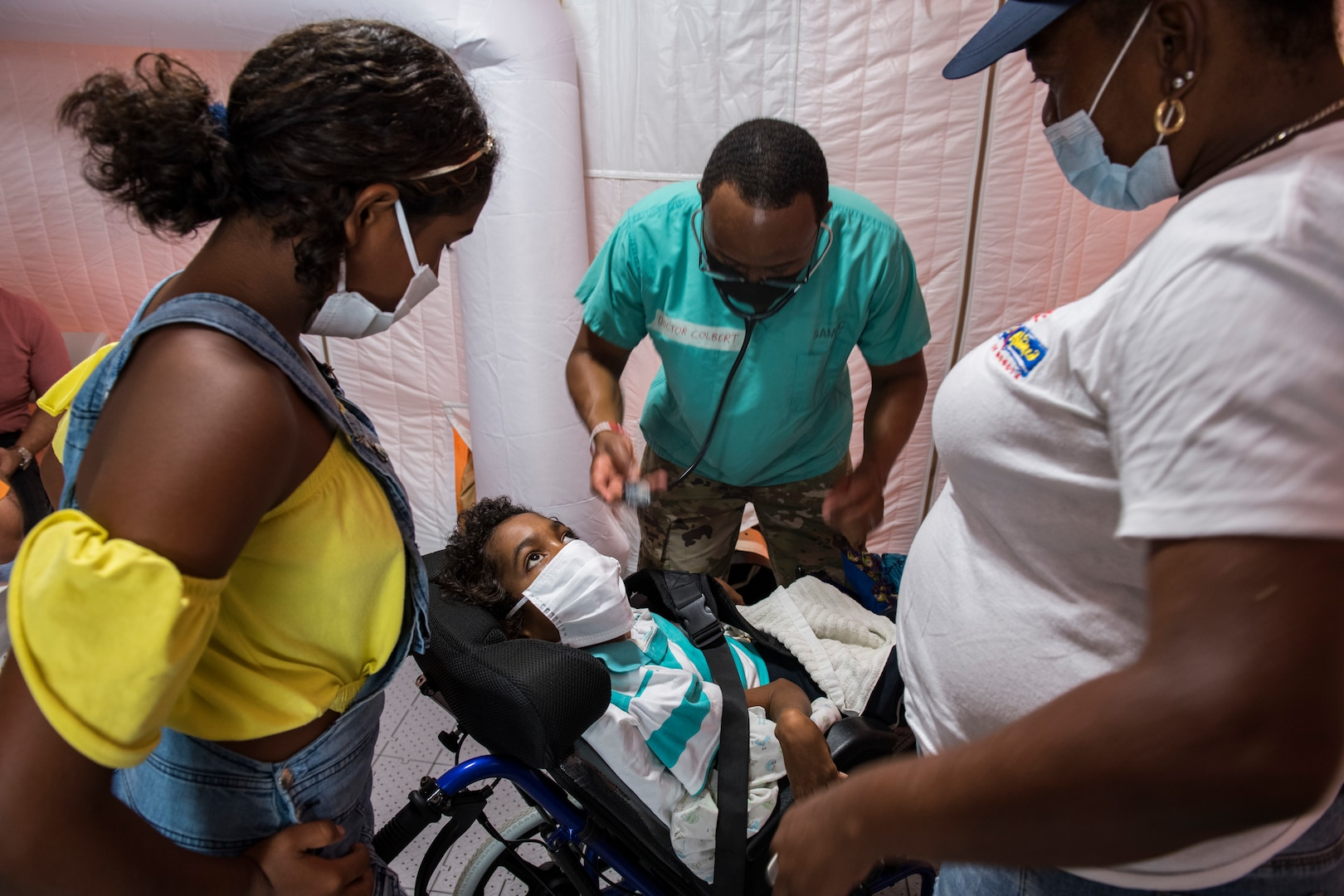 Colombia, JTF-Bravo Global Health Engagement concludes on Providencia Island