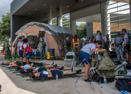 Ready EAGLE exercise helps 59th Medical Wing ensure readiness