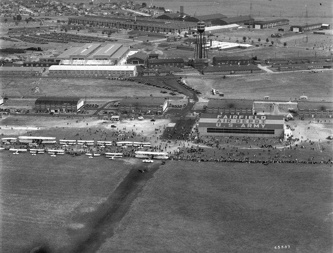 historical photo of Fairfield Air Depot