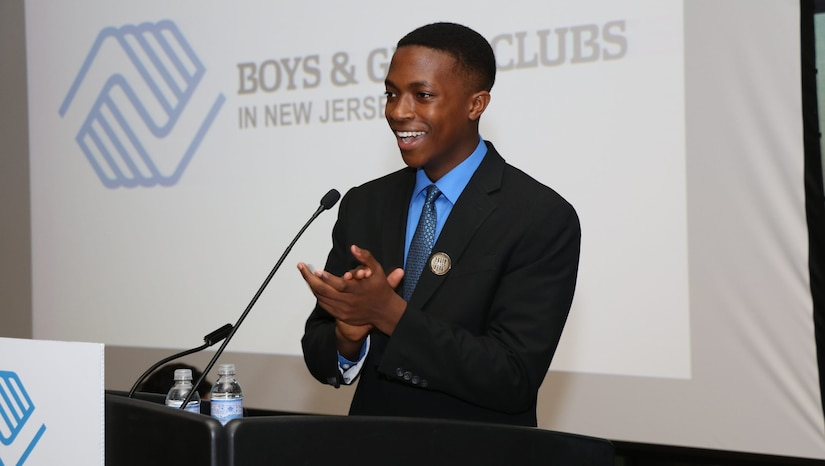 Military Youth of the Year address audience