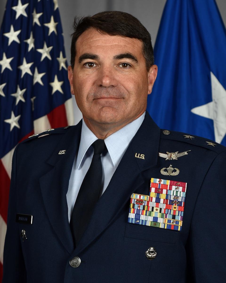 This is the official portrait of Maj. Gen. Matthew Wolfe Davidson.