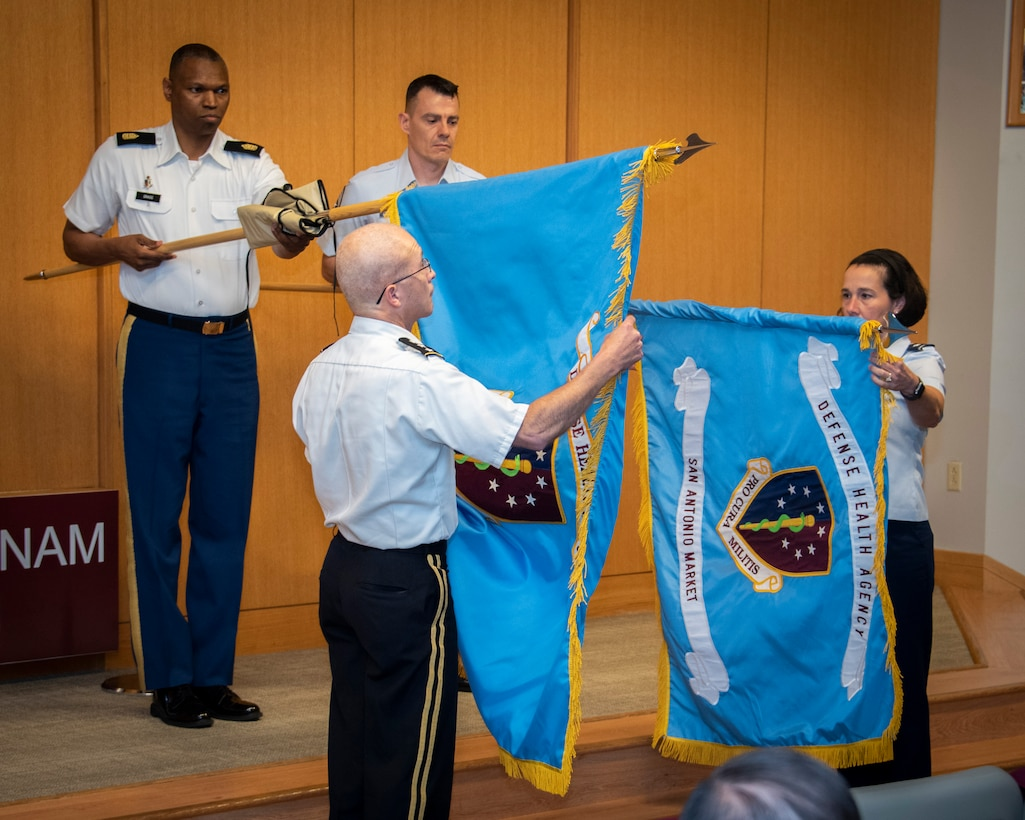 Generals unveil San Antonio Market flag