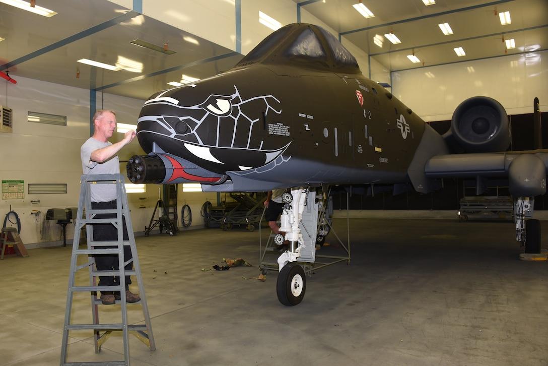 Black Indiana ANG A-10