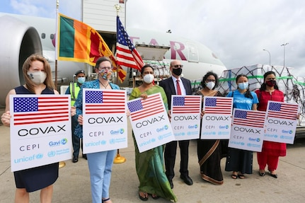 COVID-19 vaccines to Sri Lanka