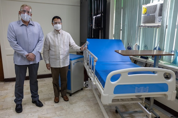 U.S. Launches Delivery of Php24 Million in ICU Beds to Support Philippine COVID-19 Response