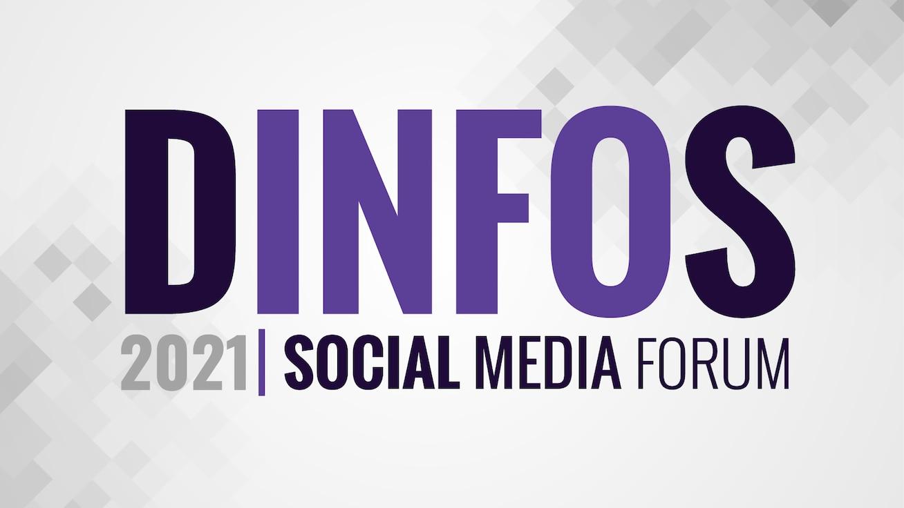 Logo for 2021 DINFOS Social Media Forum