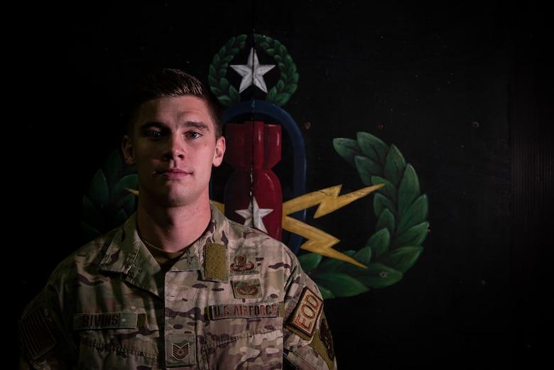 Portrait photo of Sgt. Bivins