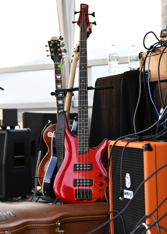 Twenty-four U.S. Air Force active-duty members, Reserve Citizen Airmen, spouses and Department of Defense civilians have formed a musical group called the Fighter Country Talent Squad. It all began with Lt. Col. Roger Greenwood, 944th Operations Group Detachment 2 director of operations, and his 28-year long passion for playing the guitar.