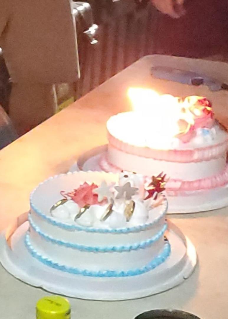 Sgt. Bivins birthday cake