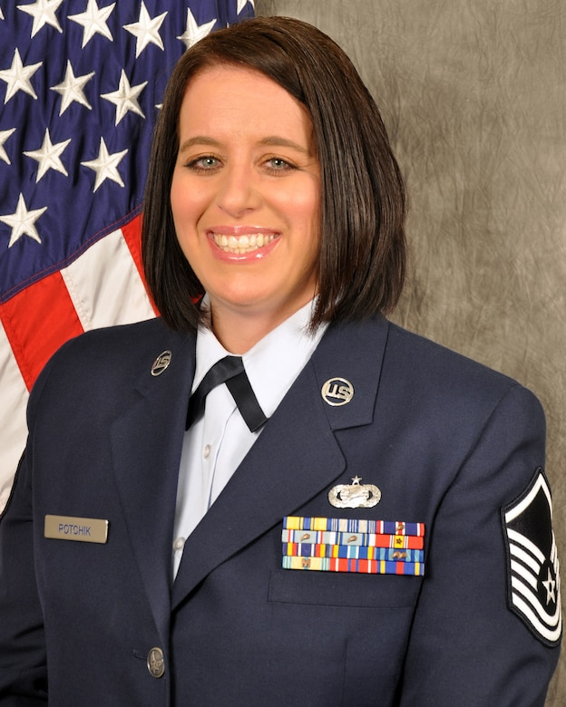 Master Sgt. Angela Potchik is the new point of contact for the Yellow Ribbon Reintegration Program. Potchik is a long-time member of the 445th Airlift Wing and 445th Maintenance Group commander support staff superintendent.