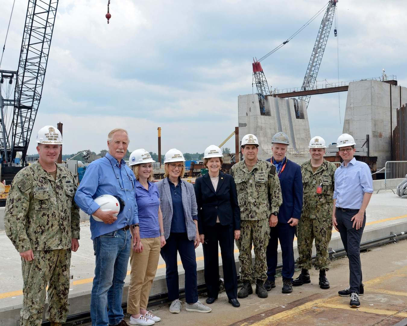 Portsmouth Naval Shipyard, Kittery, Maine,  July 7, 2021:  Deputy Secretary of Defense Dr. Kathleen Hicks visited the shipyard.