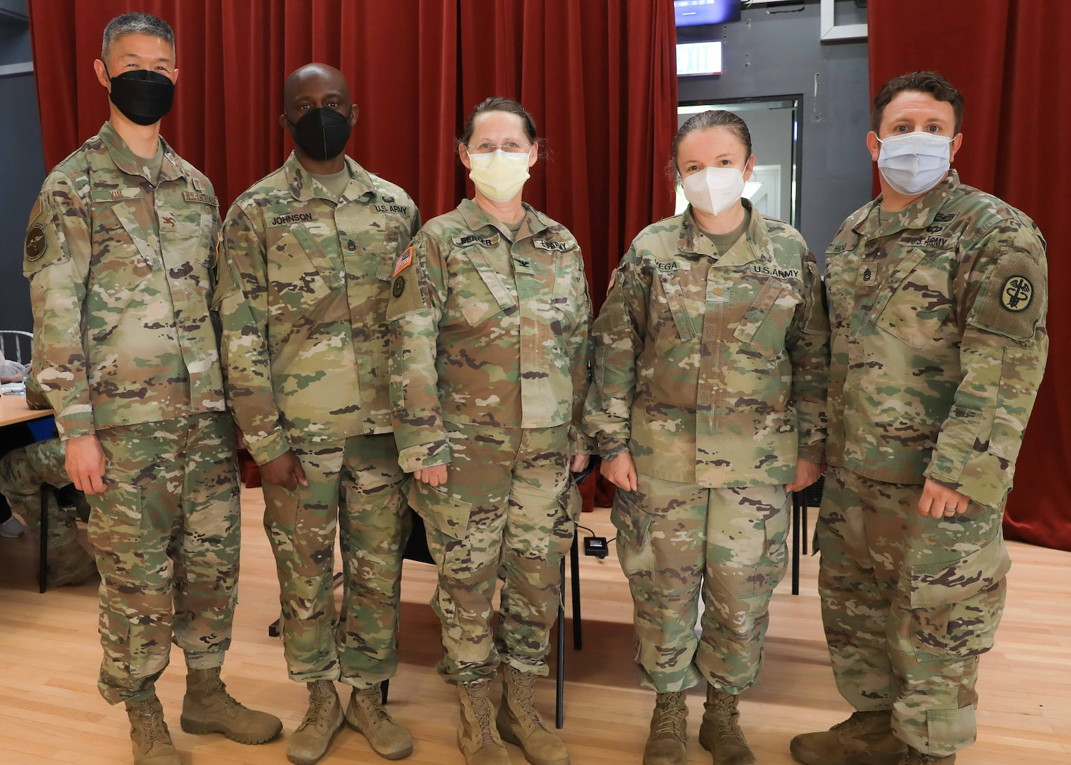 Wisconsin Army reserve unit aids vaccination efforts overseas