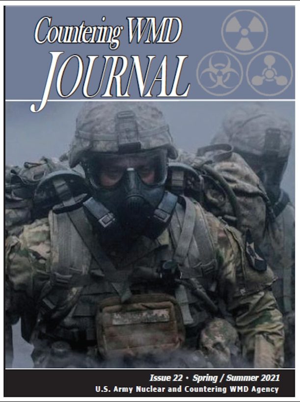 2ID Soldiers moving through a simulated CWMD contaminated environment. Picture from Joint Program Executive Office for Chemical, Biological, Radiological and Nuclear Defense-JPEO-CBRN.