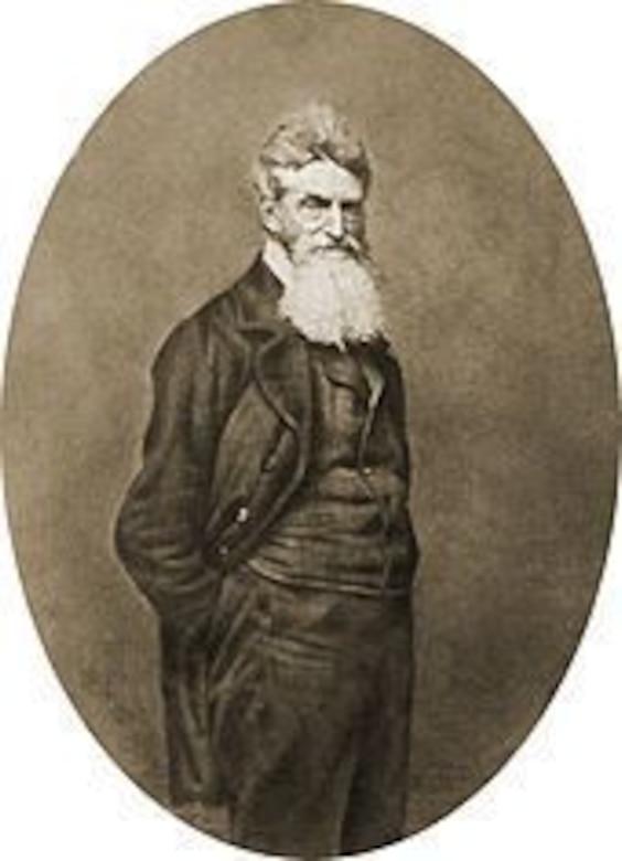 John Brown portrait, 1859.