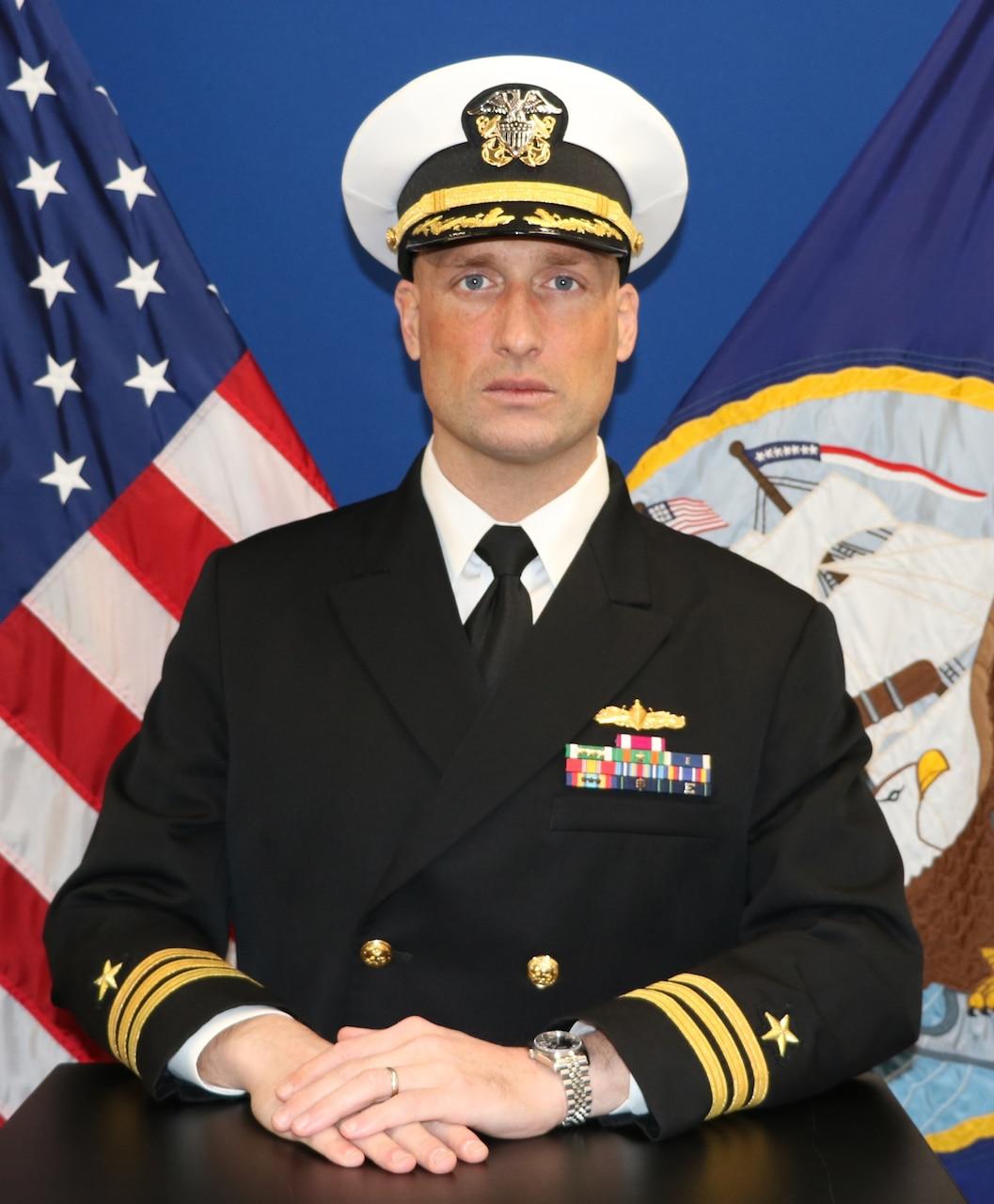 Commander John N. Van Wagoner