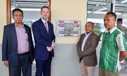 Press Release: U.S. Navy Seabees Build New Schoolhouse in Baucau