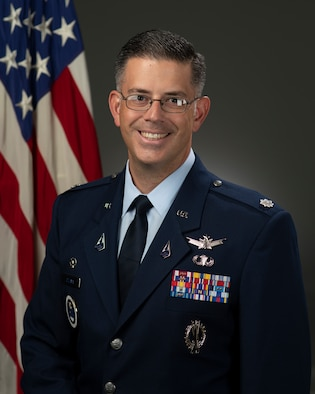 U.S. Space Force Lt. Col. Aaron W. Celaya is the Commander, 364th Recruiting Squadron, McClellan Park, Calif.