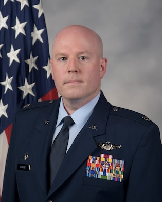 Lt. Col. Steven Hawkins official photo.