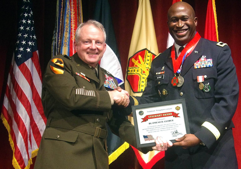Brig. Gen. Omuso George retirement