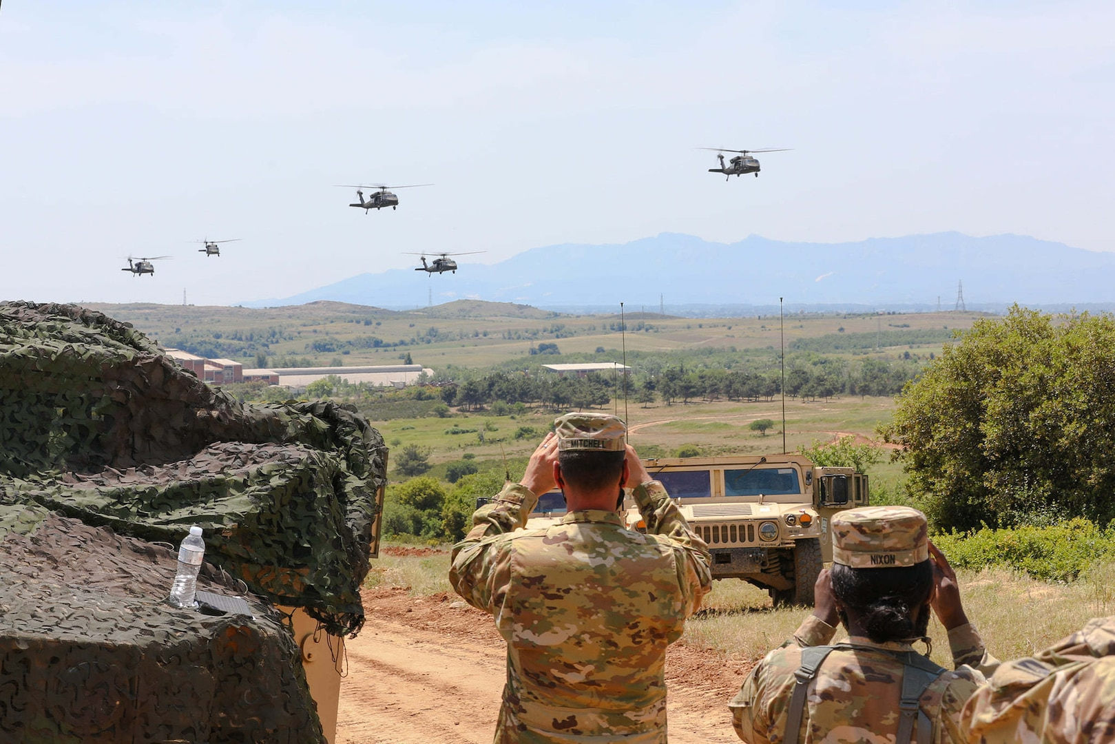 U.S. Soldiers from 1-167th Infantry Regiment, Alabama Army National Guard, participated in Greece-led CENTAUR 21 exercise May 24, 2021, at the firing range of Petrochori in Xanthi, Greece.
