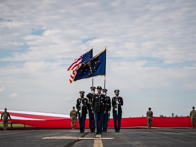 Honor Guard at Shelbyville Armory