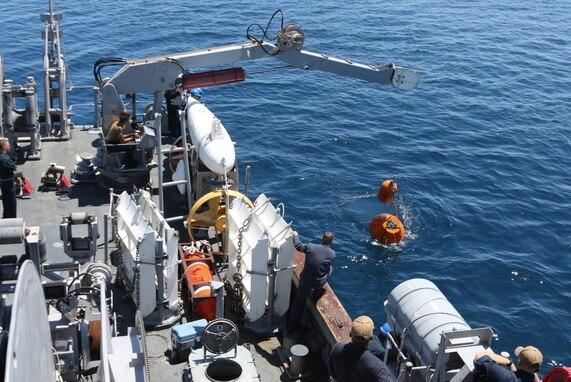 U.S. Navy and JMSDF Strengthen Ties through Mine Warfare Exercise 2JA