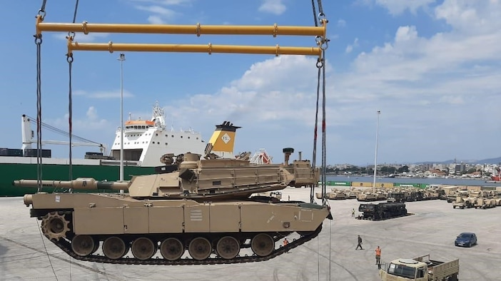 Atlantic Resolve rotation demonstrates strategic importance of seaport in Alexandroupoli, Greece
