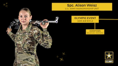 USAMU Soldiers aim for Olympic Gold in Tokyo