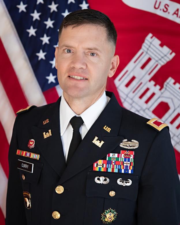 Rock Island District Commander, Col. Jesse T. Curry