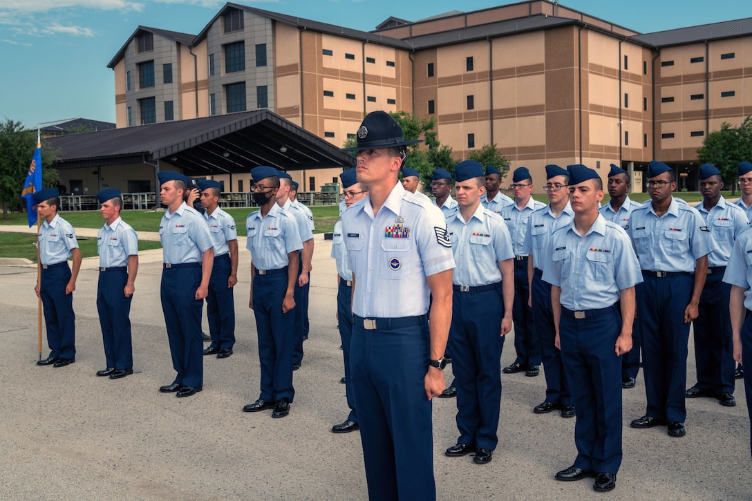 Air Force Basic Military Training graduation reopens to the public