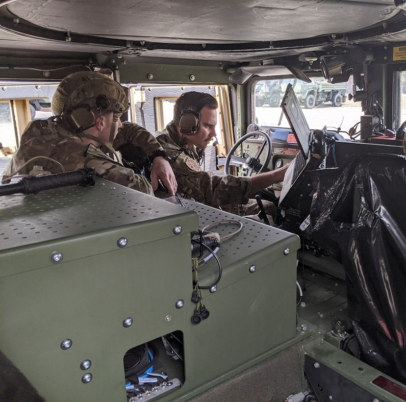 TACPs operate the MCS Block 2 system at the 14 ASOS at Pope Army Airfield, N.C.