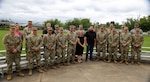 Washington National Guard cyber experts and civilian partners who participated in the Cyber Shield 2021 exercise, shown July 21, 2021, at Camp Murray, Wash.