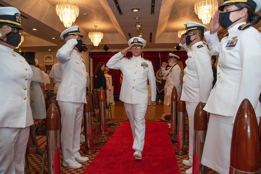 DSO Pacific Change of Command 2021