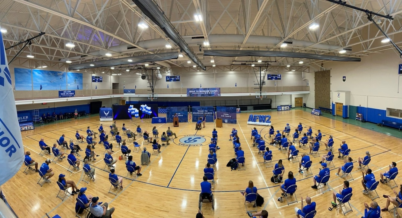 Team Air Force Kicks Off Training With Opening Ceremony!!!