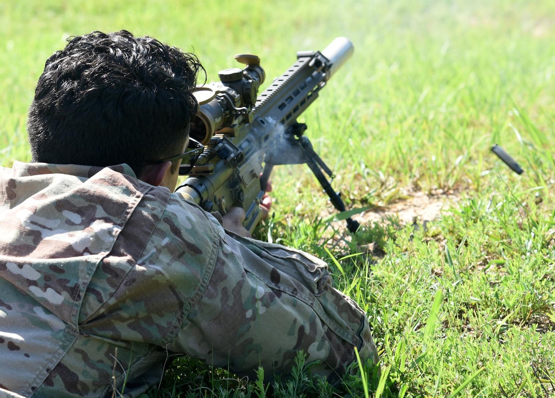116th IBCT trains on new Squad Designated Marksman Rifle