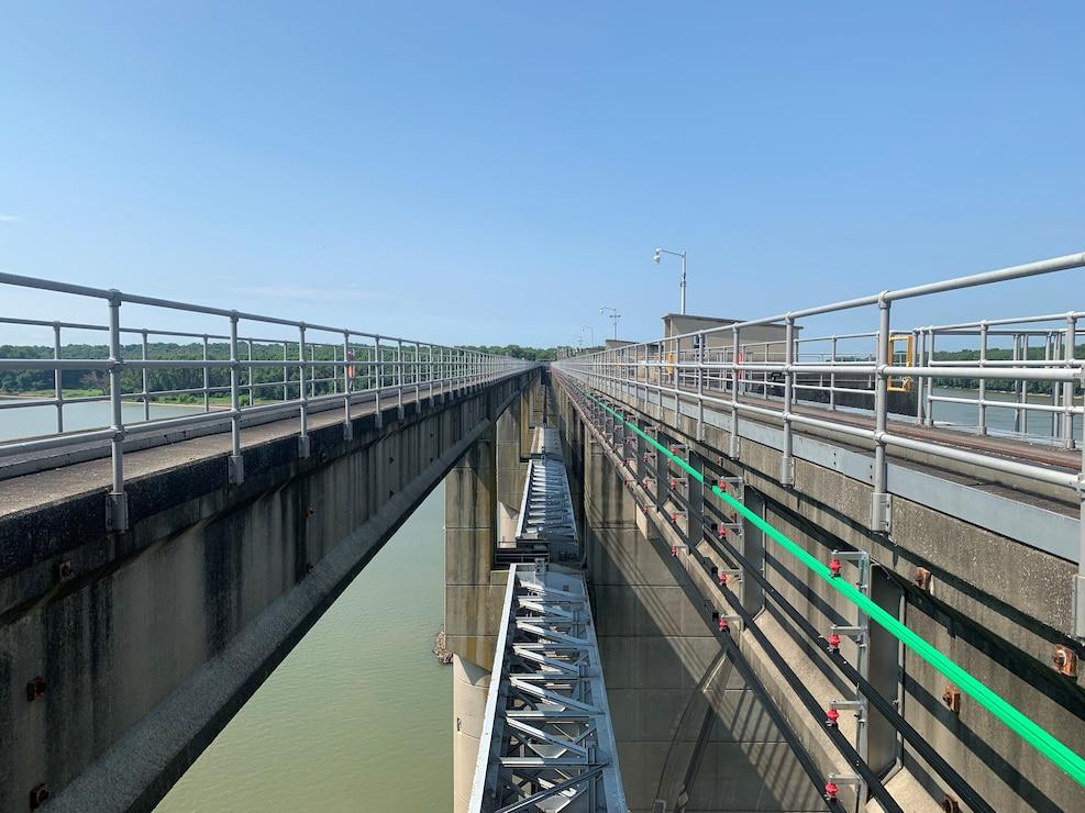 John T. Myers service bridge