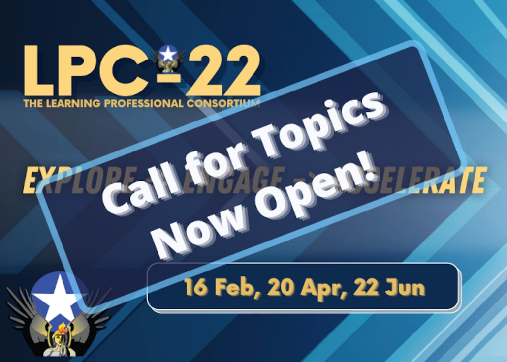 LPC-22 Website Rotator - Call for Topics Now Open