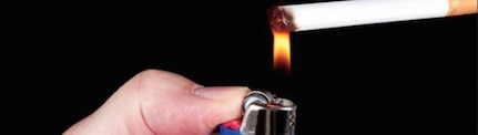 Fires involving smoking materials are preventable