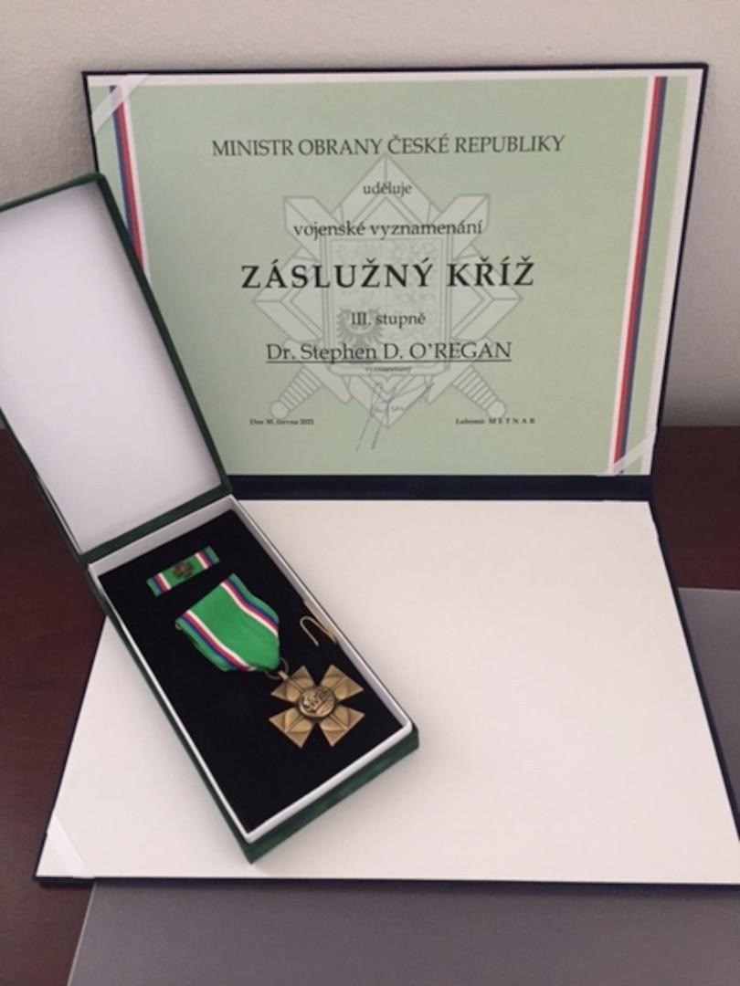 Cross of Merit with citation.