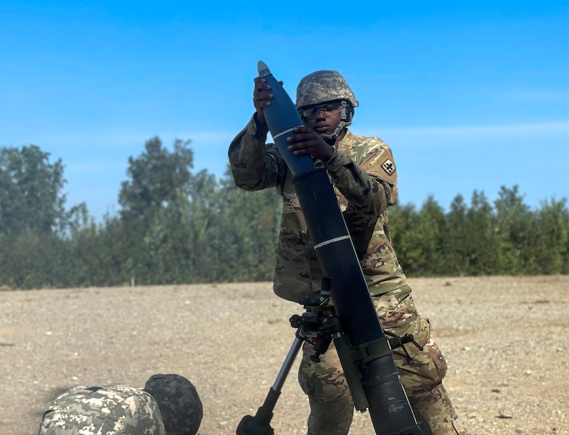 Indirect fire infantrymen with the Alaska Army National Guard's 1st Battalion, 297th Infantry Regiment conducted live-fire training on various weapon systems at Donnelly Training Center, near Fort Greely, Alaska, July 19, during their annual training event. (U.S. Army National Guard photo by Sgt. 1st Class Dayton Will)