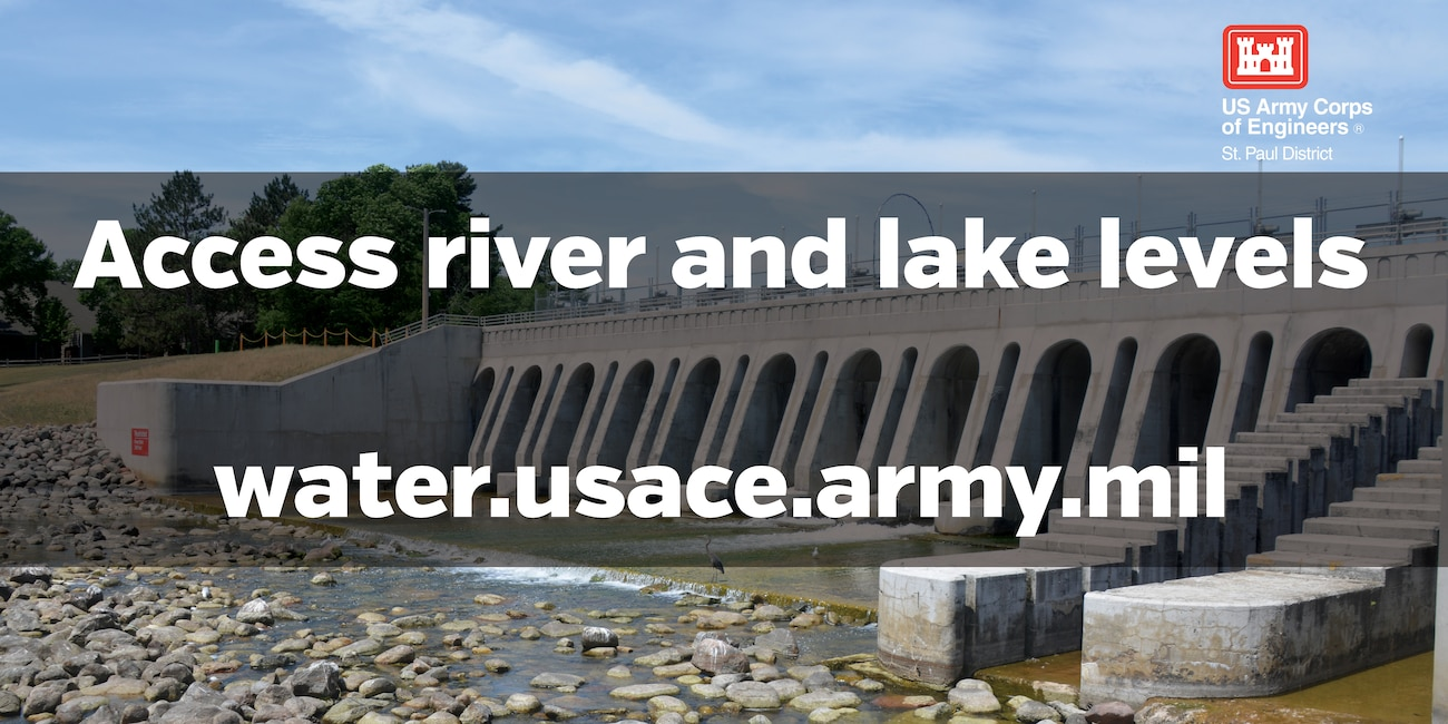 Access river and lake levels at water.usace.army.mil
